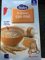 Papilla 8 cereales con miel - Product - en
