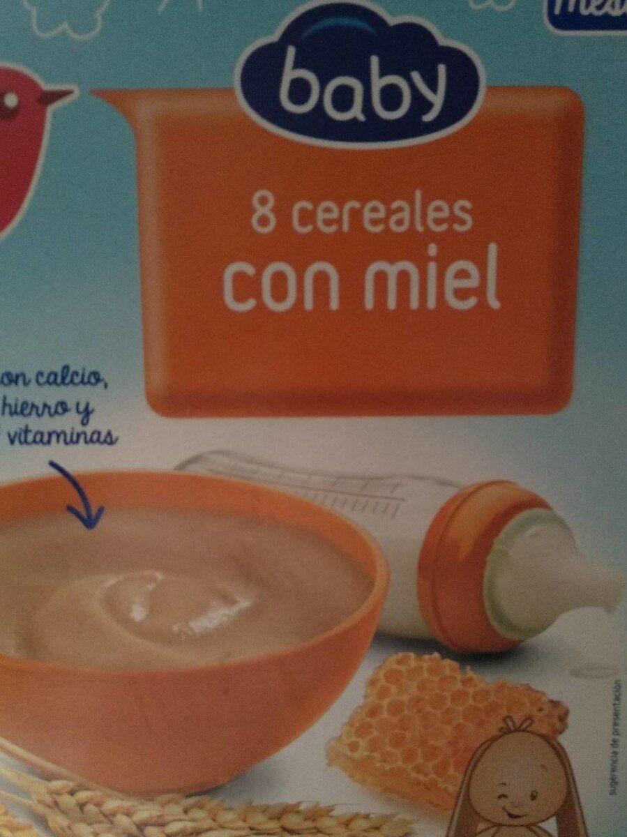 Papilla 8 cereales con miel - Producte - es