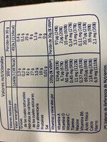 Papilla 8 cereales con miel - Nutrition facts - en