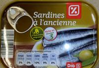 Sardines à l'ancienne - Product - fr