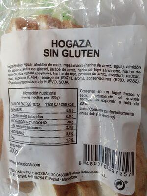 Hogaza sin gluten - 1