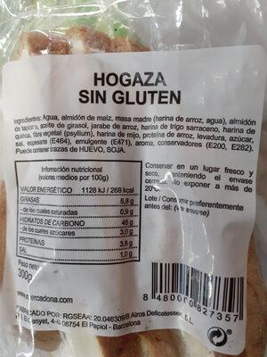 Hogaza sin gluten - Produit - es