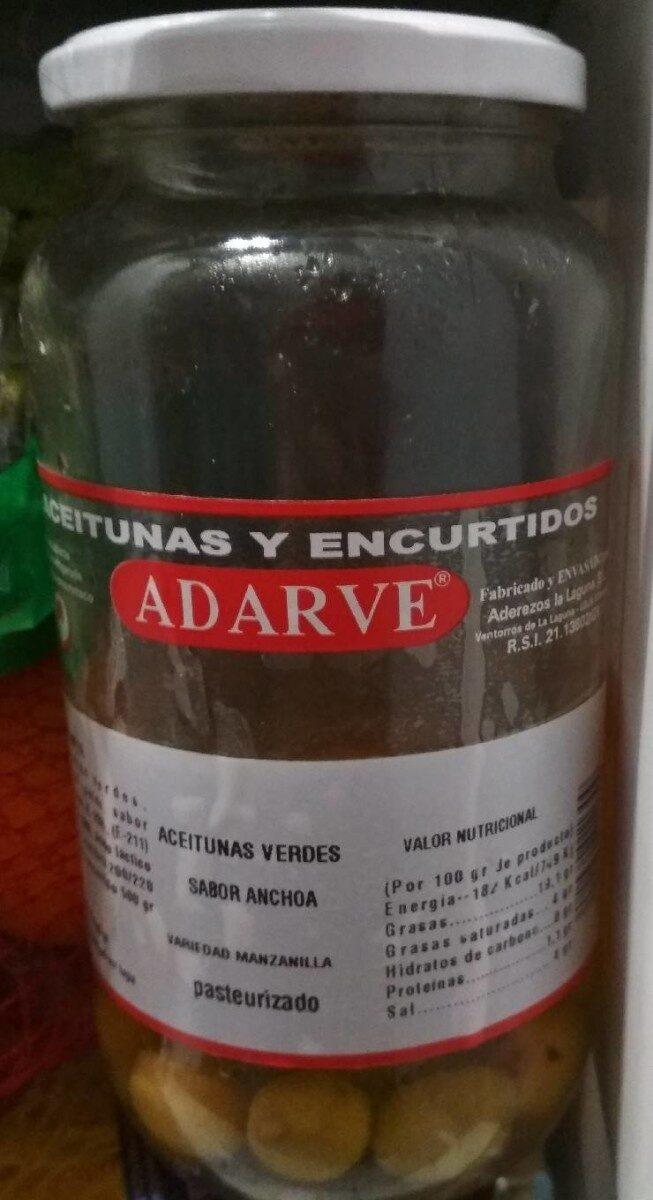 Aceitunas y encurtidos - Product - es