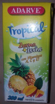 Zumo + Leche Tropical