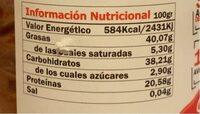 Protella - Informations nutritionnelles - es