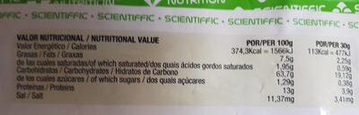 Harina de avena chocolate - Información nutricional