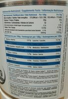 Isolac - Nutrition facts