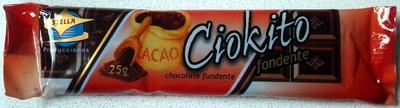 """Tableta de chocolate negro """"Ciokito"""" - Product"""