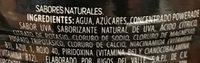 Powerade Ion 4 Uva - Ingredients - es
