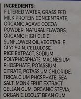 orgain - Ingredients - en