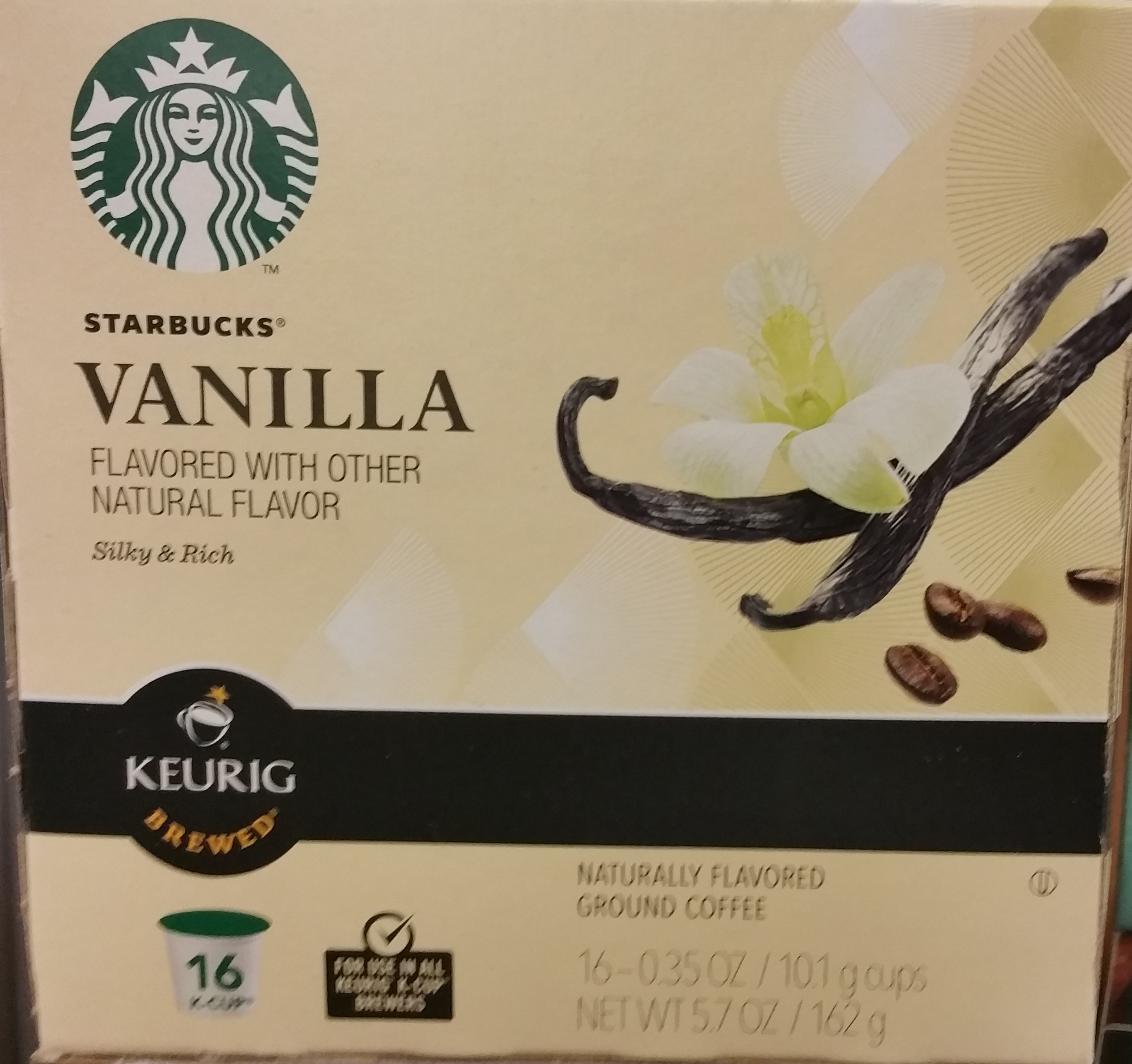 Vanilla coffee - Product - en