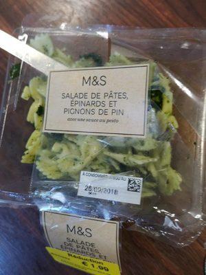 Salade de pâtes épinards - Produit - fr