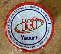 Yaourt Iti - Produit