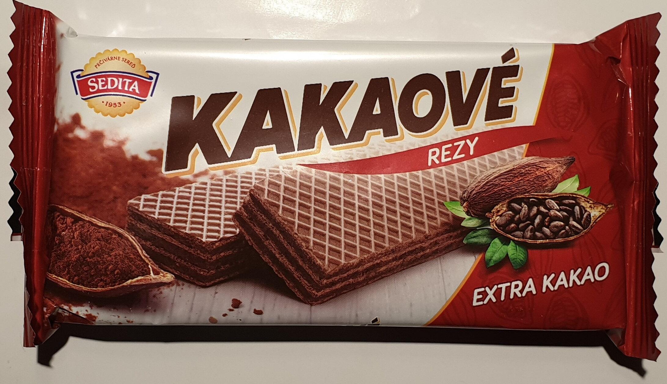 Kakaové rezy - Produkt - de