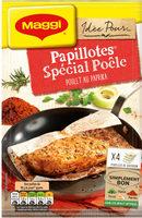 Papillotes Spécial Poêle Poulet au Paprika - Product - fr