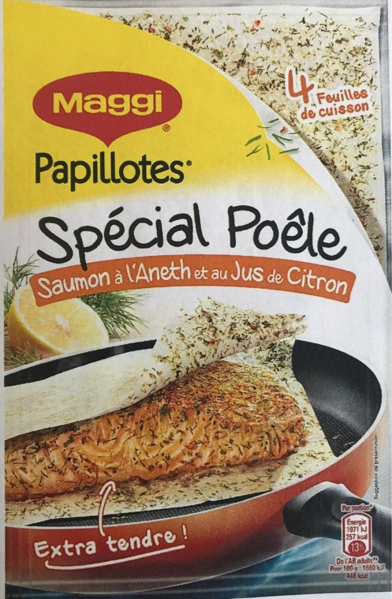 Papillotes Saumon à l'Aneth - Product