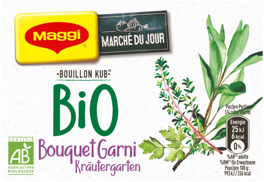 Bouillon Kub Bio Bouquet Garni - Product