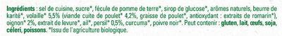 MAGGI Bouillon BIO Volaille - Ingrediënten