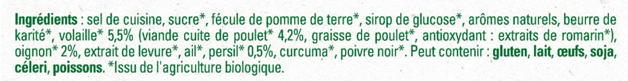 MAGGI Bouillon BIO Volaille - Ingrediënten - fr