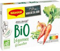 Bouillon Kub Bio Légumes - Product - fr