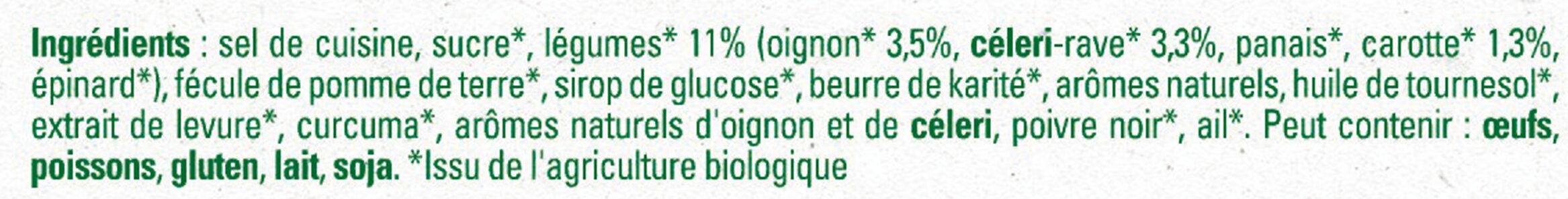 Bouillon Kub Bio Légumes - Ingrediënten - fr