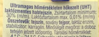 Habtejszín Lactose free - Ingrédients - hu