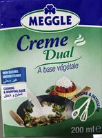Crème Dual à base végétale - نتاج - fr