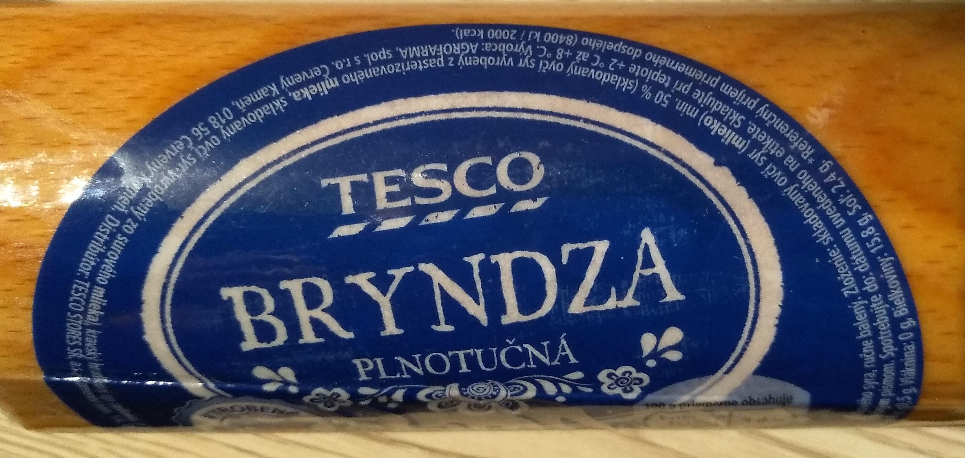 Bryndza - Ingrédients - sk