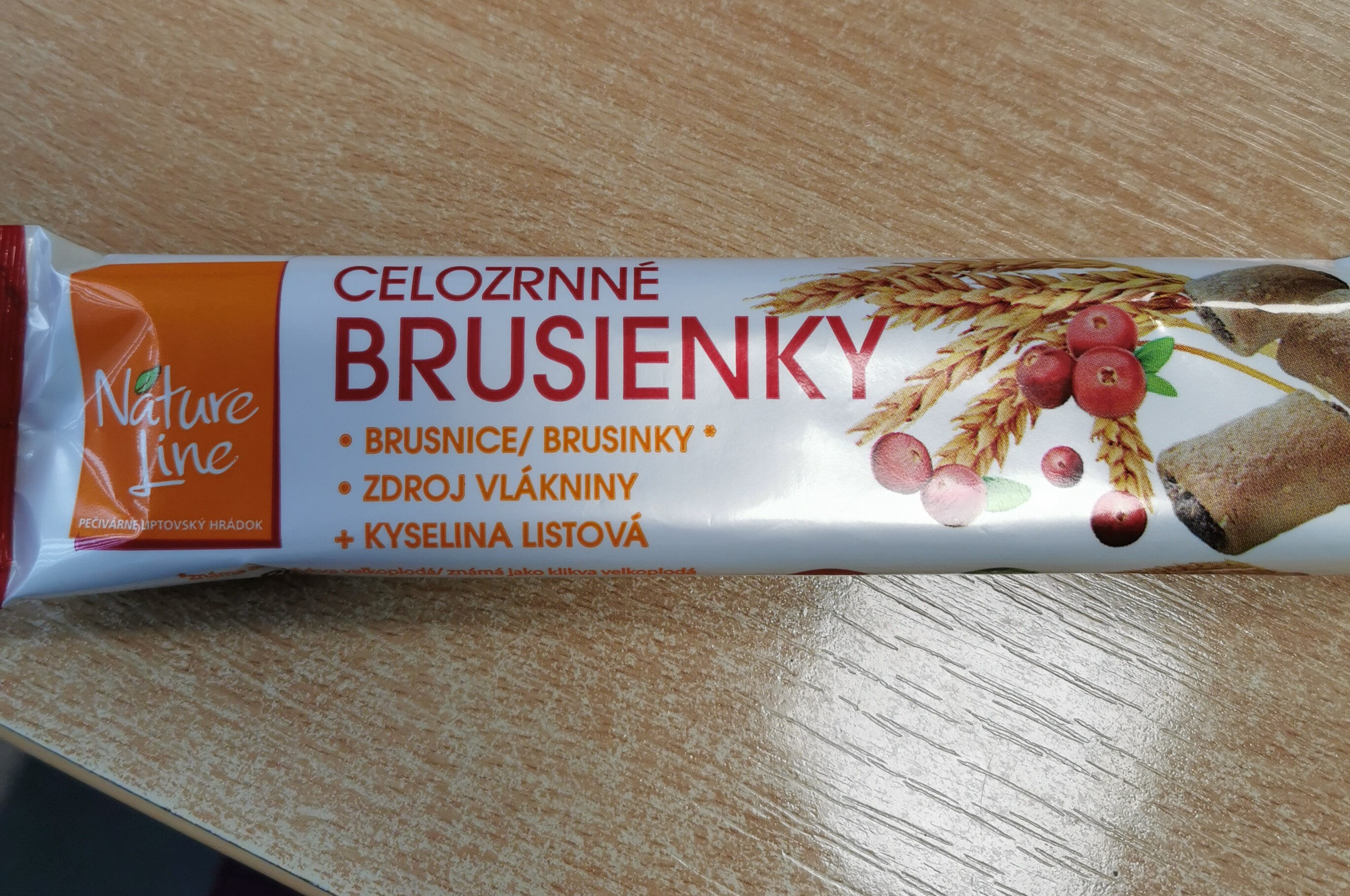 Celozrnné brusienky - Produit - sk