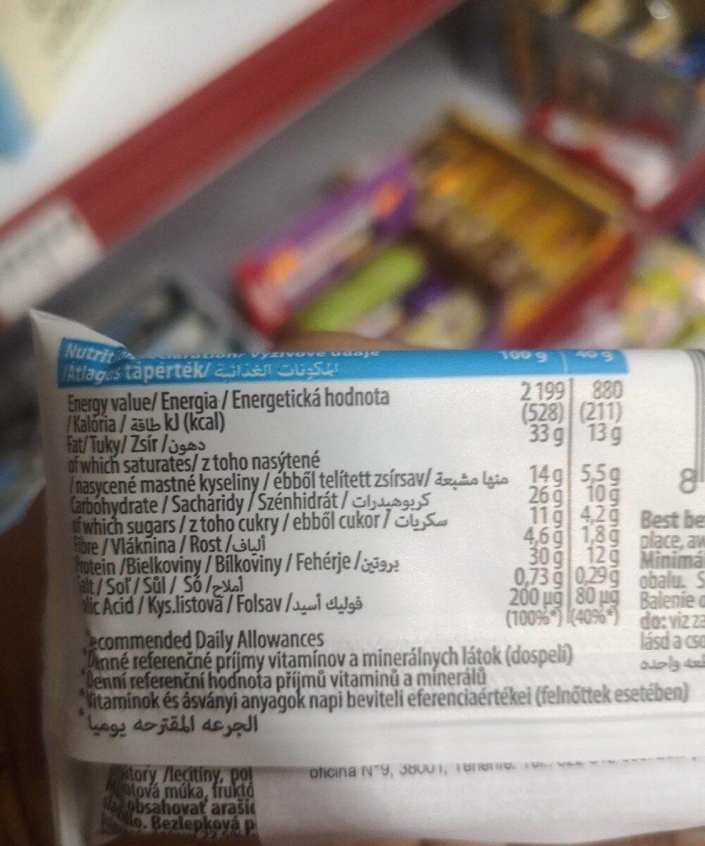 Protein Kex cocoa - Informazioni nutrizionali - it