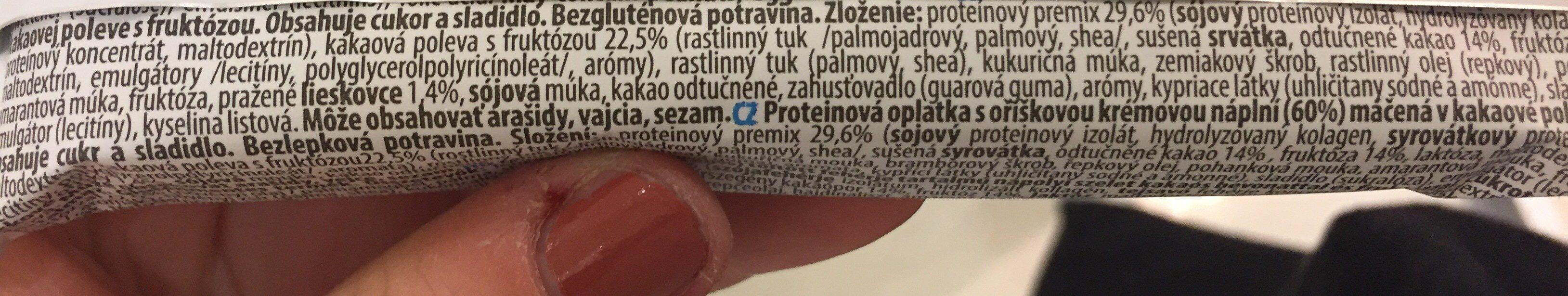 Protein nuts - Ingrédients - fr