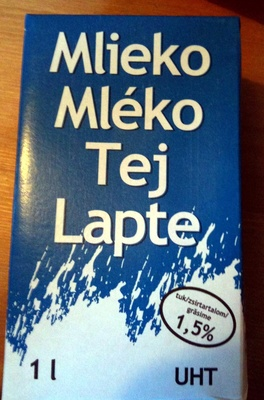 UHT Tej 1,5% Mlieko Mléko Tej Lapte - Produit - en