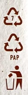 Bio Tofu Geräuchert - Istruzioni per il riciclaggio e/o informazioni sull'imballaggio - de