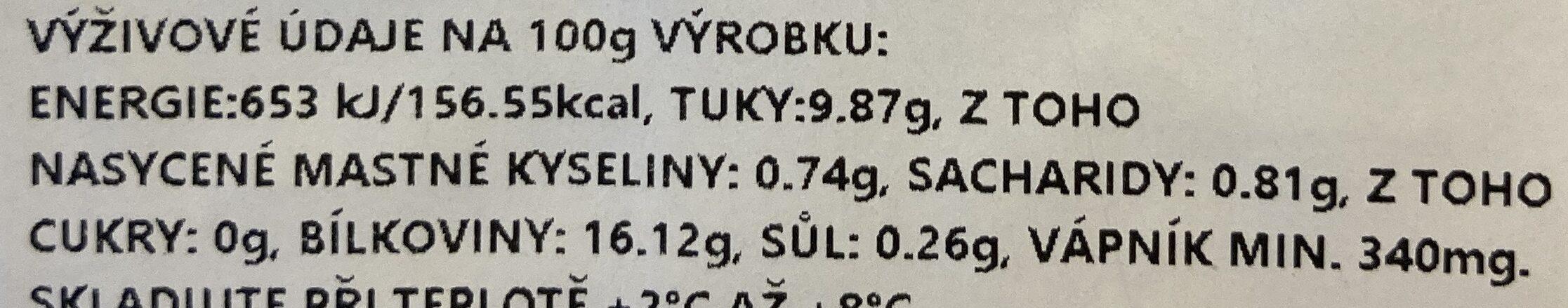Tofu bílé - Valori nutrizionali - cs
