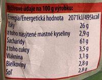 Extra Snack Kečup a bazalka - Nutrition facts - sk