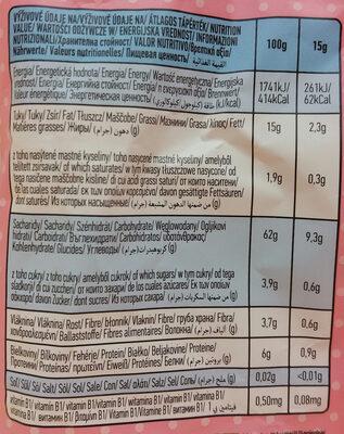 Little Angel Organic Corn Snacks With Carrot & Apple 60G - Nutrition facts - en