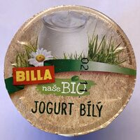 Bio jogurt bílý - Producto - cs