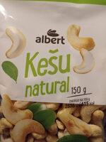 Kešu natural - Produit - cs