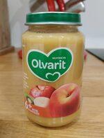 Olvarit 6M+ Pêche Banane Kiwi - Product - fr