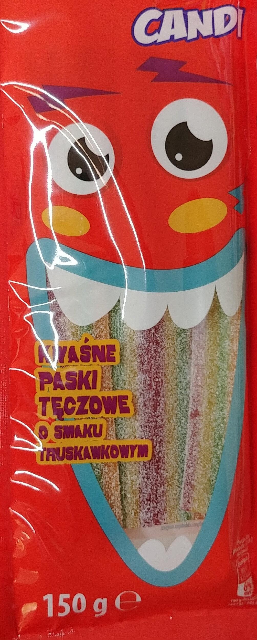 Kwaśne paski tęczowe o smaku kwaśnym. - Produkt - pl