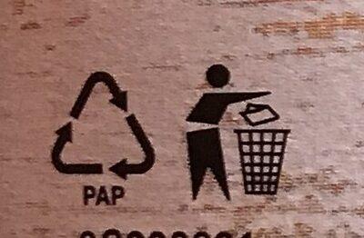 Kuskus a červená čočka - Instruction de recyclage et/ou informations d'emballage - cs