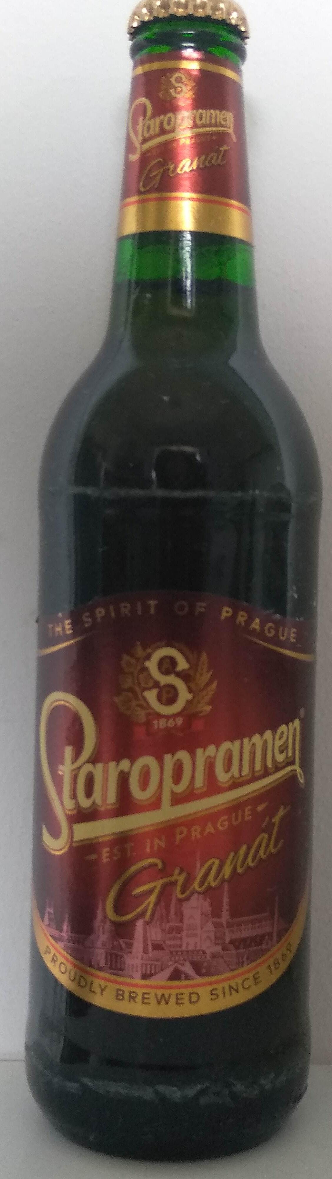 Staropramen Granát - Produit - hu