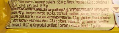 Nuts - Ingrédients - fr