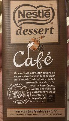 Chocolat Nestlé Dessert au café - Produit - fr