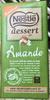 Dessert Amande - Produit