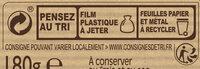 NESTLE DESSERT Chocolat Blanc Amande - Instruction de recyclage et/ou information d'emballage - fr