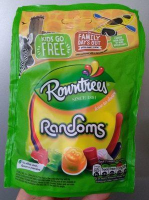 Rowntrees Randoms Pouch 150G - Product - en