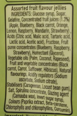 Rowntrees Randoms Pouch 150G - Ingredients - en
