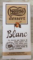 Chocolat blanc Dessert - Produit