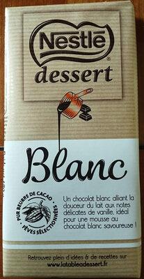 Chocolat blanc Dessert - Produit - fr